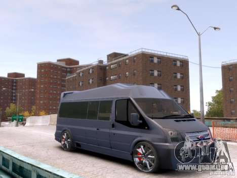 Ford Transit Sport Edition RV 2013 für GTA 4 hinten links Ansicht