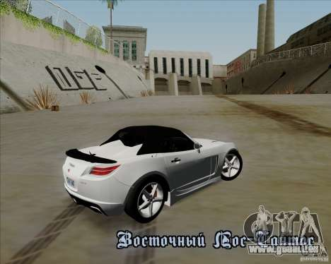 Saturn Sky Red Line 2007 v1.0 für GTA San Andreas zurück linke Ansicht