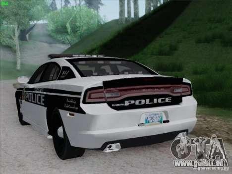 Dodge Charger 2012 Police für GTA San Andreas rechten Ansicht