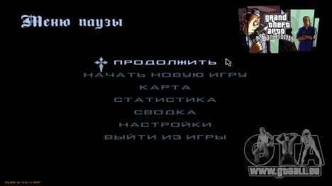 Nouveau menu de CatVitalio pour GTA San Andreas deuxième écran