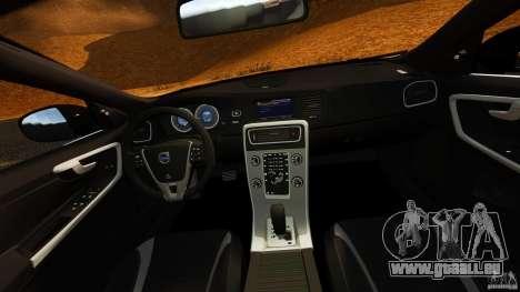 Volvo S60 Sheriff für GTA 4 Rückansicht