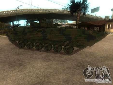 BMP-2 in COD MW2 für GTA San Andreas linke Ansicht