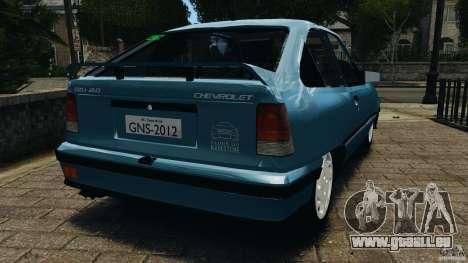 Chevrolet Kadett GSI pour GTA 4 Vue arrière de la gauche