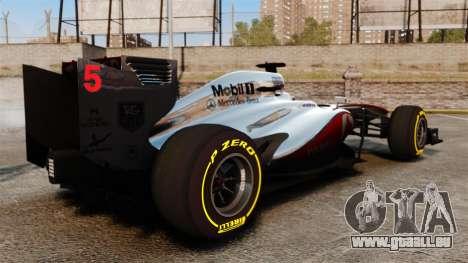 McLaren MP4-28 für GTA 4 rechte Ansicht