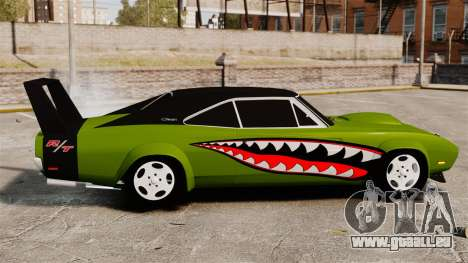 Dodge Charger RT SharkWide für GTA 4 linke Ansicht