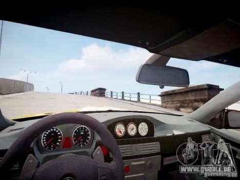 BMW M3 GT-S pour GTA 4 est une vue de l'intérieur