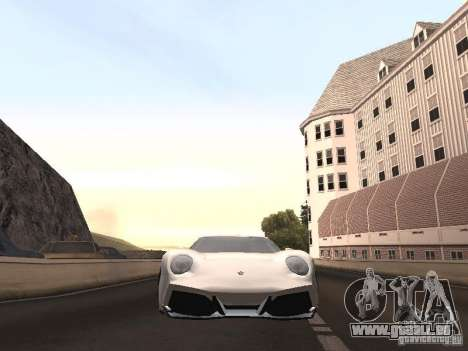 Lamborghini Miura LP670 pour GTA San Andreas vue de droite