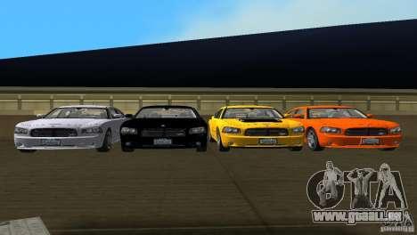 Dodge Charger RT für GTA Vice City Seitenansicht