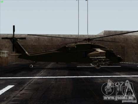 S-70 Battlehawk pour GTA San Andreas laissé vue
