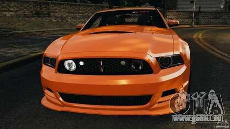 Ford Mustang 2013 Police Edition [ELS] für GTA 4 Unteransicht