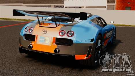 Bugatti Veyron 16.4 Body Kit Final pour GTA 4 Vue arrière de la gauche