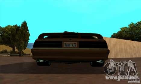 Ford Mustang SVT Cobra 1993 pour GTA San Andreas sur la vue arrière gauche
