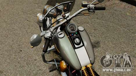 Harley-Davidson Trike pour GTA 4 Vue arrière