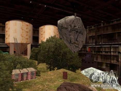 Die verlassene Fabrik für GTA San Andreas dritten Screenshot