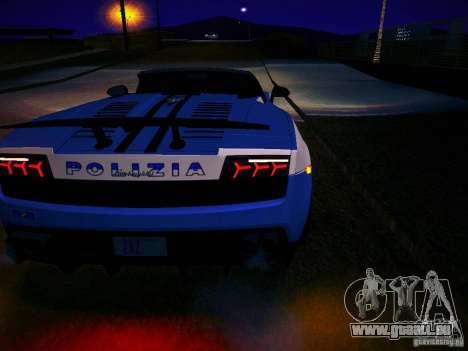 Lamborghini Gallardo LP570-4 Spyder Performante für GTA San Andreas rechten Ansicht