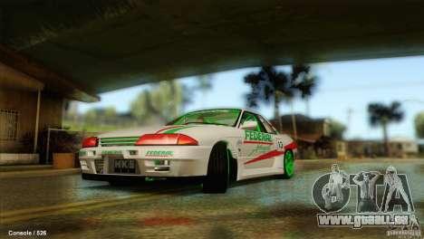 Nissan Skyline GT-R32 BadAss pour GTA San Andreas vue de droite