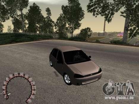 LADA 1119 pour GTA San Andreas vue de droite