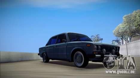 VAZ 2106 Retro V3 für GTA San Andreas zurück linke Ansicht