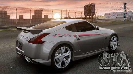 Nissan 370Z NISMO S-Tune pour GTA 4 est une gauche