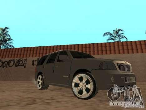 Lincoln Navigator 2004 für GTA San Andreas linke Ansicht