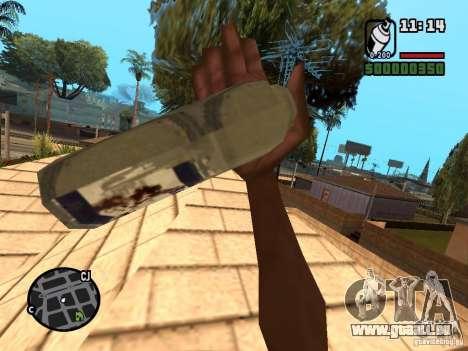 Bombe aérosol pour GTA San Andreas deuxième écran