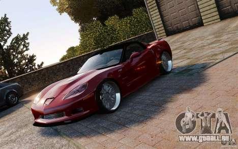 Chevrolet Corvette ZR1 für GTA 4
