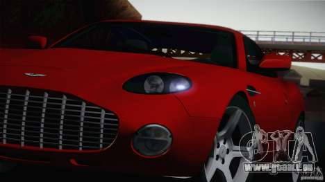 Aston Martin DB7 Zagato 2003 für GTA San Andreas zurück linke Ansicht