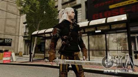 Épée de la v1 de The Witcher pour GTA 4 troisième écran