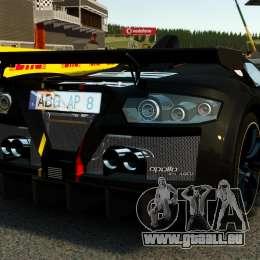 Gumpert Apollo Enraged 2012 für GTA 4 hinten links Ansicht