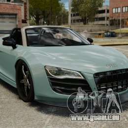 Audi R8 Spider Body Kit für GTA 4