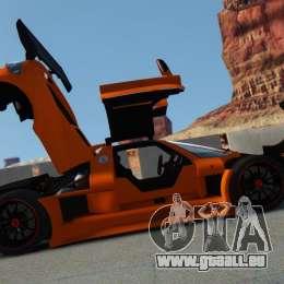 Gumpert Apollo Sport 2011 v2.0 für GTA 4 linke Ansicht