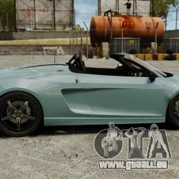Audi R8 Spider Body Kit für GTA 4 linke Ansicht