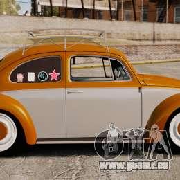 Volkswagen Fusca Edit pour GTA 4 est une gauche