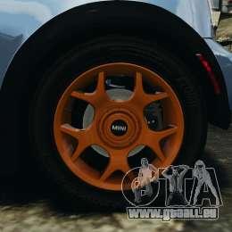 Mini Cooper S v1.3 pour GTA 4 vue de dessus