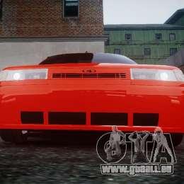 VAZ-2110 für GTA 4 hinten links Ansicht