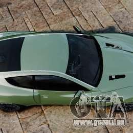 Aston Martin Vanquish 2001 pour GTA 4 est un droit