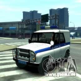 UAZ 31512 Police pour GTA 4