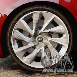 Citroen DS4 2012 für GTA 4 Rückansicht