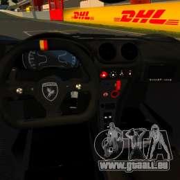 Gumpert Apollo Enraged 2012 pour GTA 4 Vue arrière