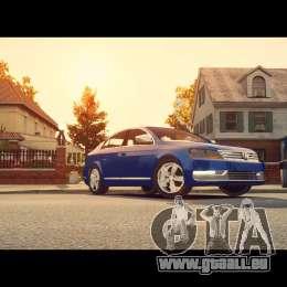 VW Passat B7 TDI Blue Motion für GTA 4 Innenansicht