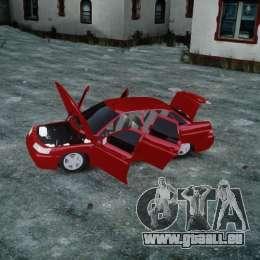 VAZ-2110 für GTA 4 obere Ansicht