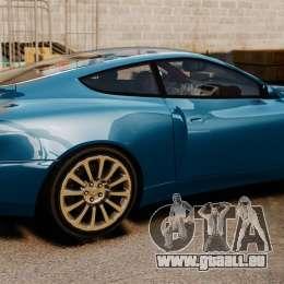 Aston Martin Vanquish 2001 pour GTA 4 est une gauche