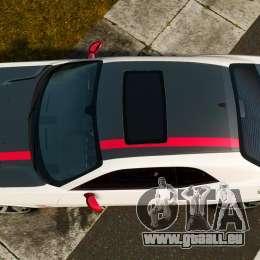 Dodge Challenger SRT8 392 2012 ACR [EPM] pour GTA 4 est un droit