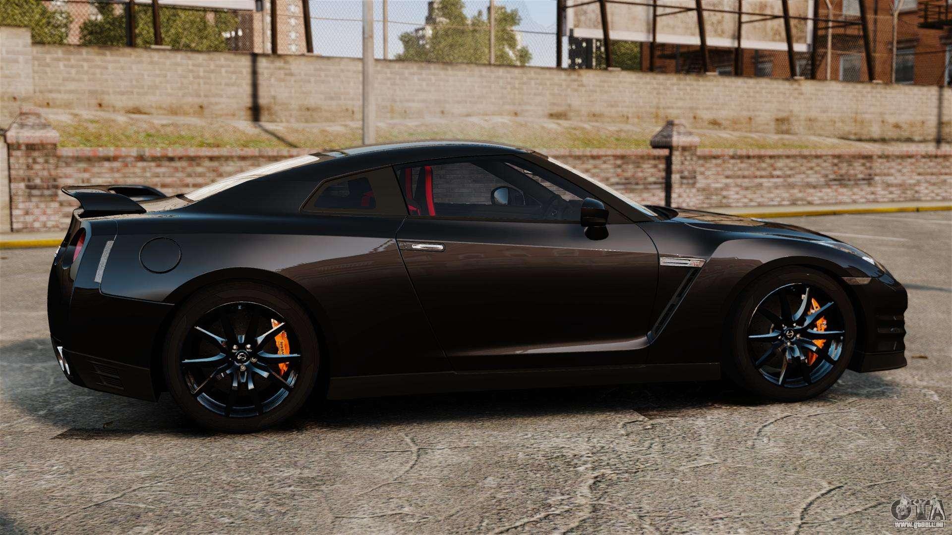 Nissan Gt R Black Edition R35 2012 Pour Gta 4