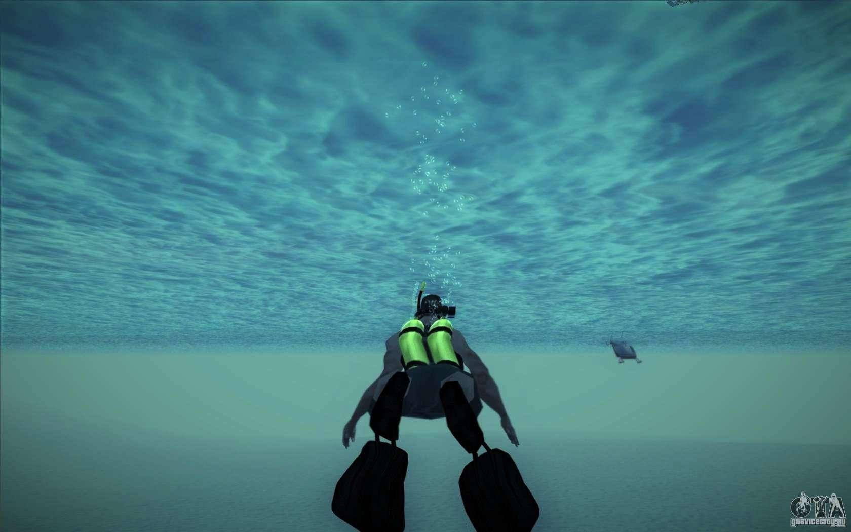 Gta 5 faire de la plongée