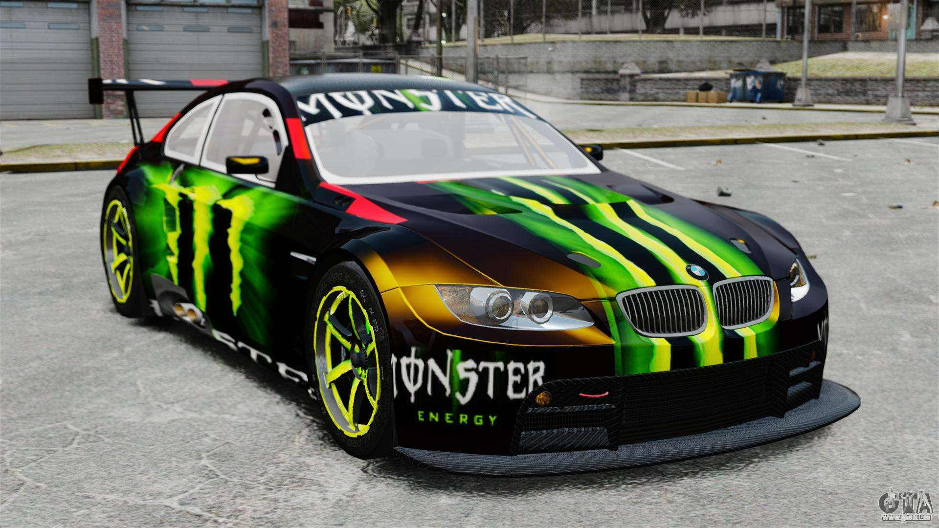 Bmw M3 E90 2008 Monster Energy V1 2 Pour Gta 4
