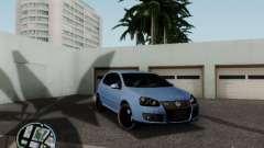 Volkswagen Golf V R32 Black edition pour GTA San Andreas