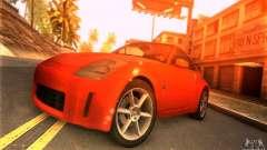 Nissan 350Z Tunable für GTA San Andreas