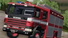Scania 94D-260 Corpo Bombeiros SP pour GTA San Andreas