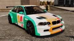 BMW M3 GTR MW 2012 für GTA 4
